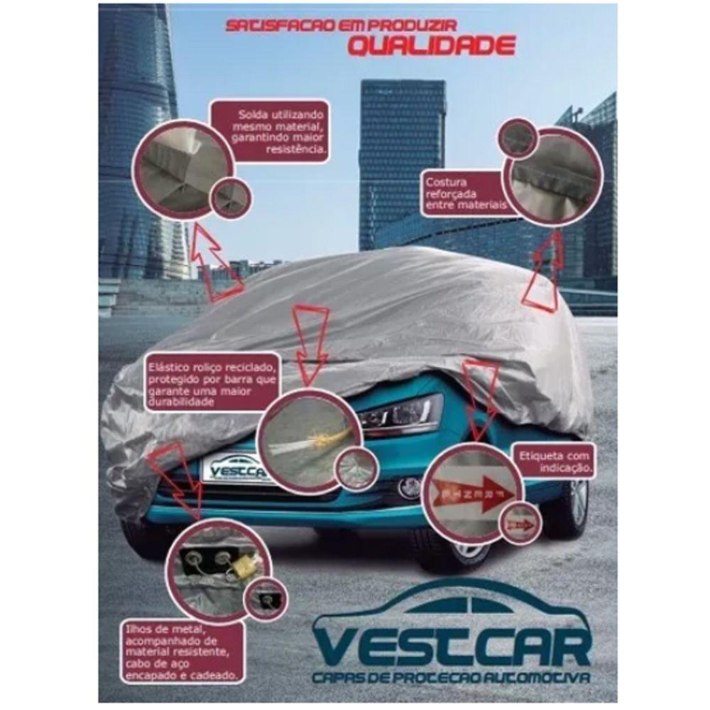 Capa De Proteção Automotiva Linha Silver Tamanho M Vestcar