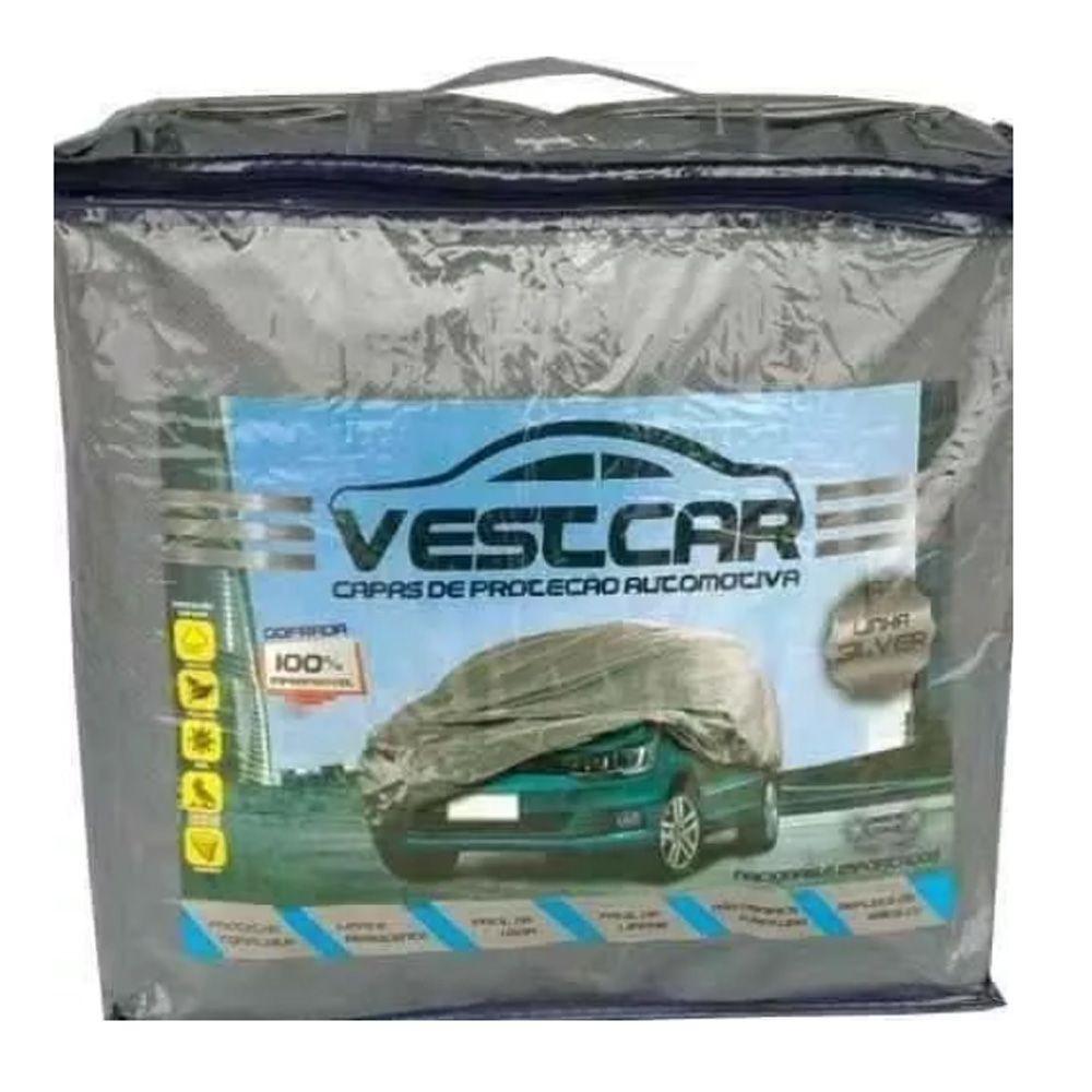 Capa De Proteção Automotiva Vestcar Silver Tamanho M Super