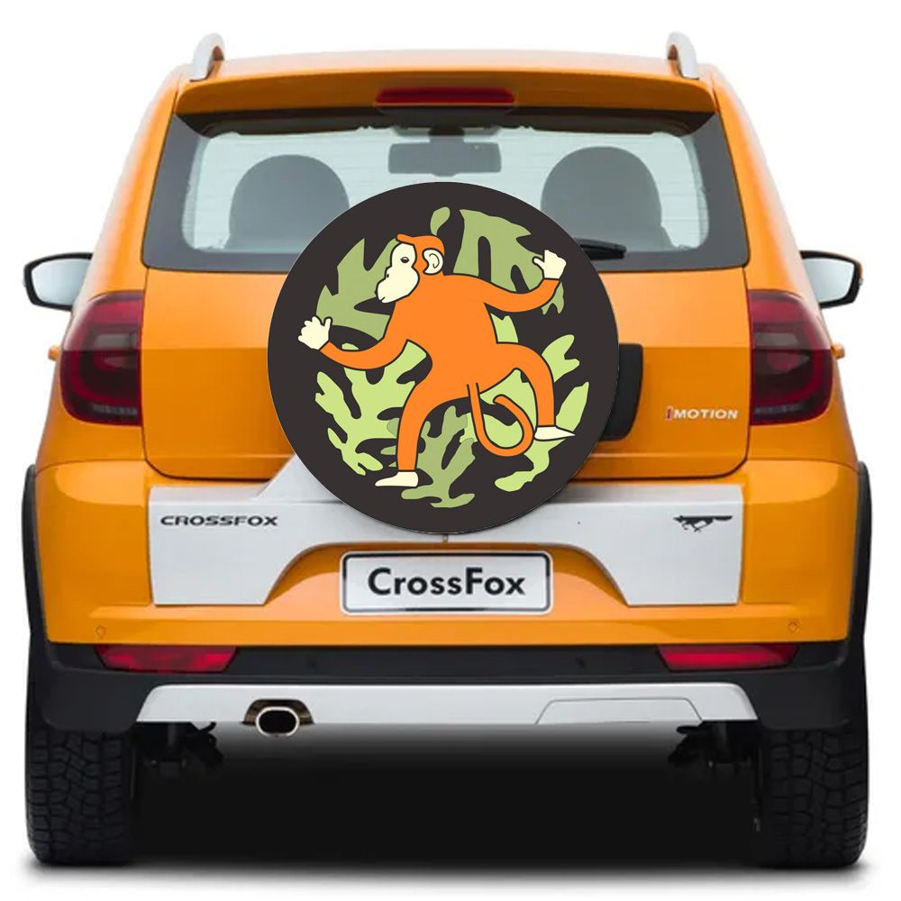 Capa Para Estepe Crossfox Flash Acessórios - CA038