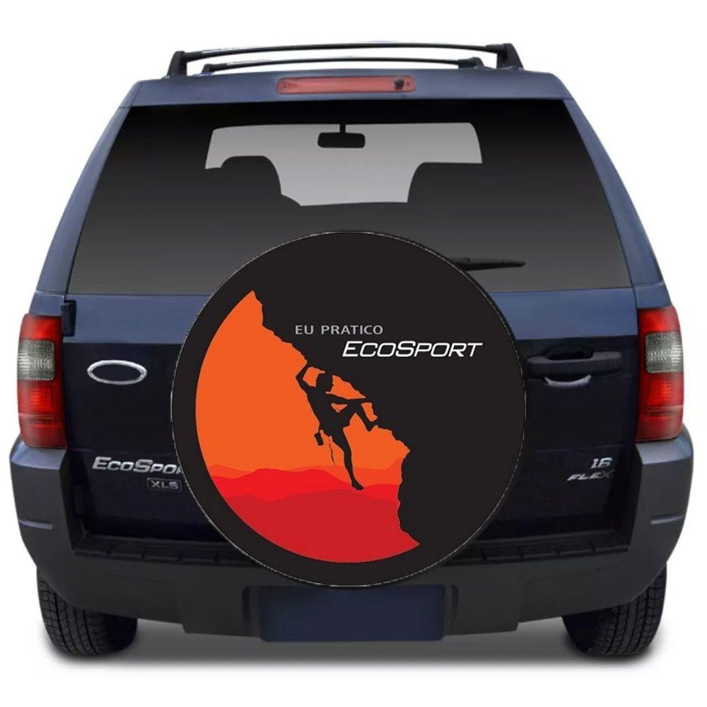 Capa Para Estepe Ecosport Flash Acessórios - Ca001