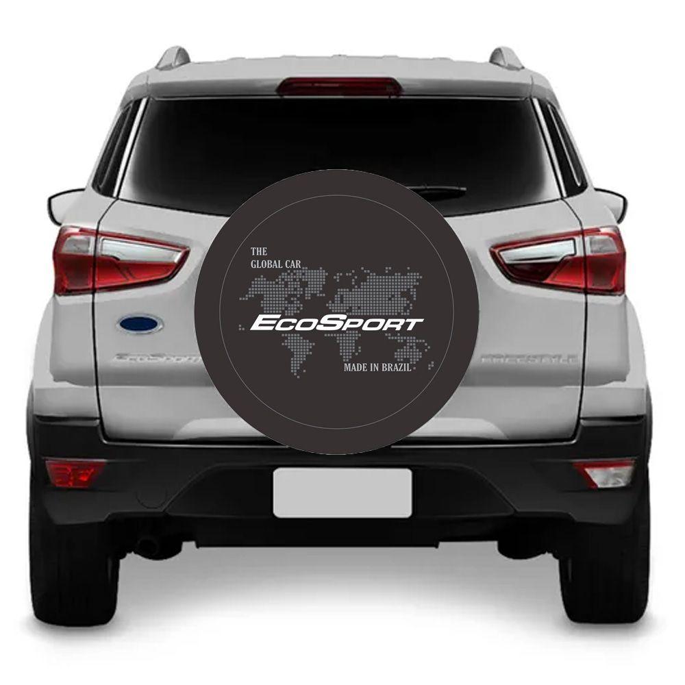 Capa Para Estepe Ecosport Flash Acessórios - CA003