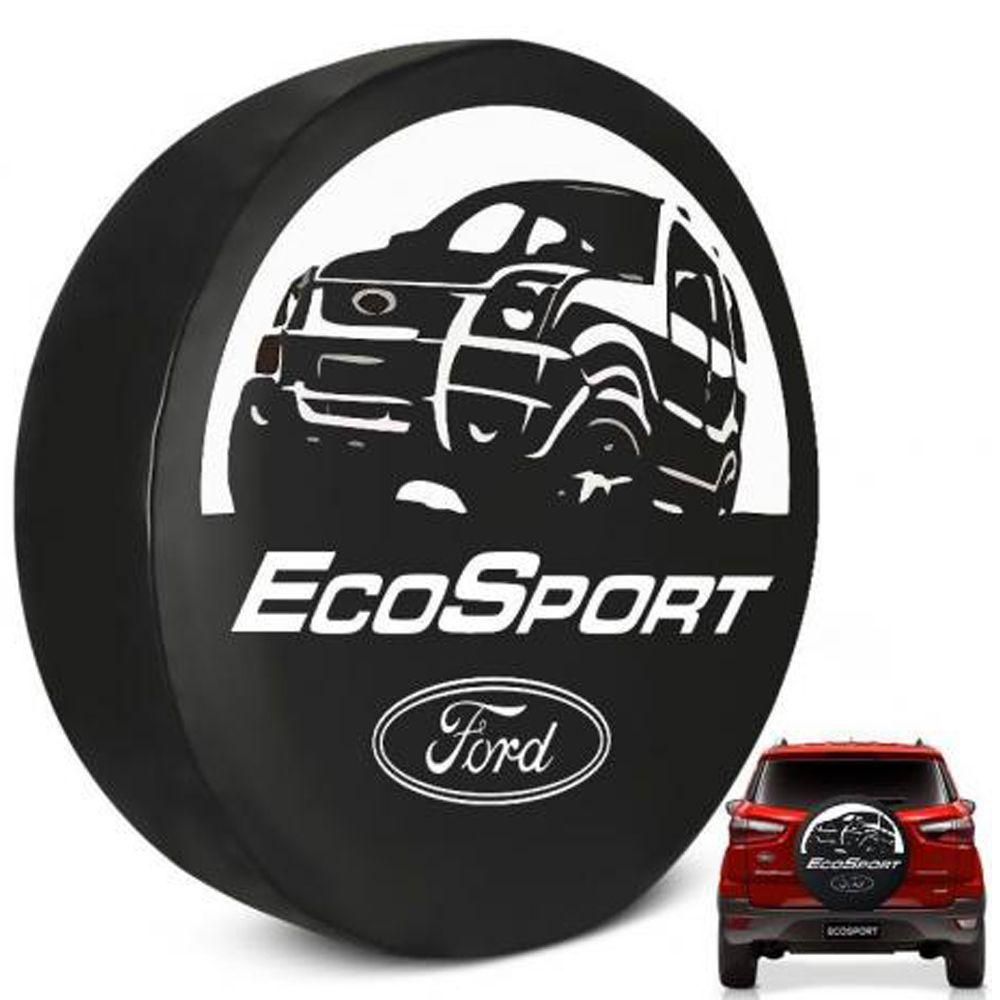 Capa Para Estepe Ecosport Flash Acessórios - Ca008