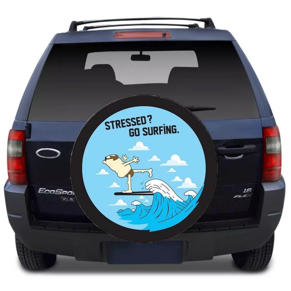 Capa Para Estepe Ecosport Flash Acessórios - Ca015