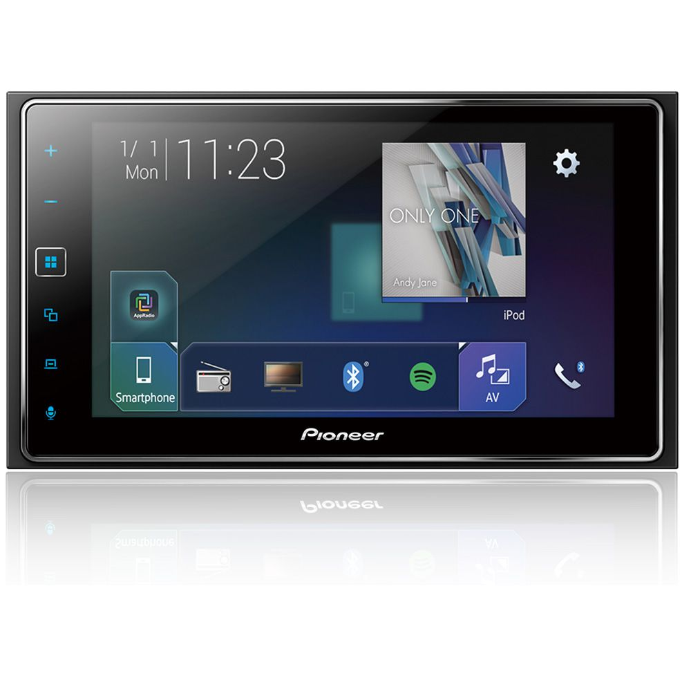 Central Multimídia Pioneer Sph-da138tv 2 Din Waze Usb