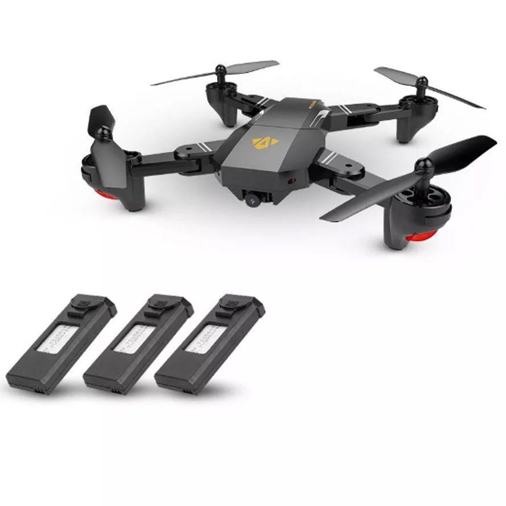 Drone Visuo Xs809hw 2mp Imagem Ao Vivo Na Tela Do Celular