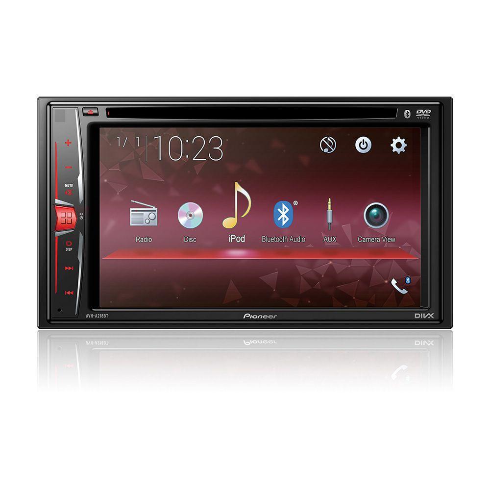 Dvd Player Pioneer Avh-a218bt 6.2 Pol Bluetooth Usb Aux