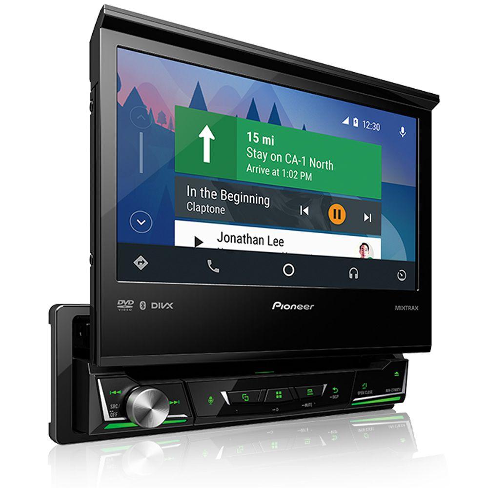 """DVD Player Pioneer AVH-Z7180TV 7"""" Bluetooth Espelhamento TV Digital"""