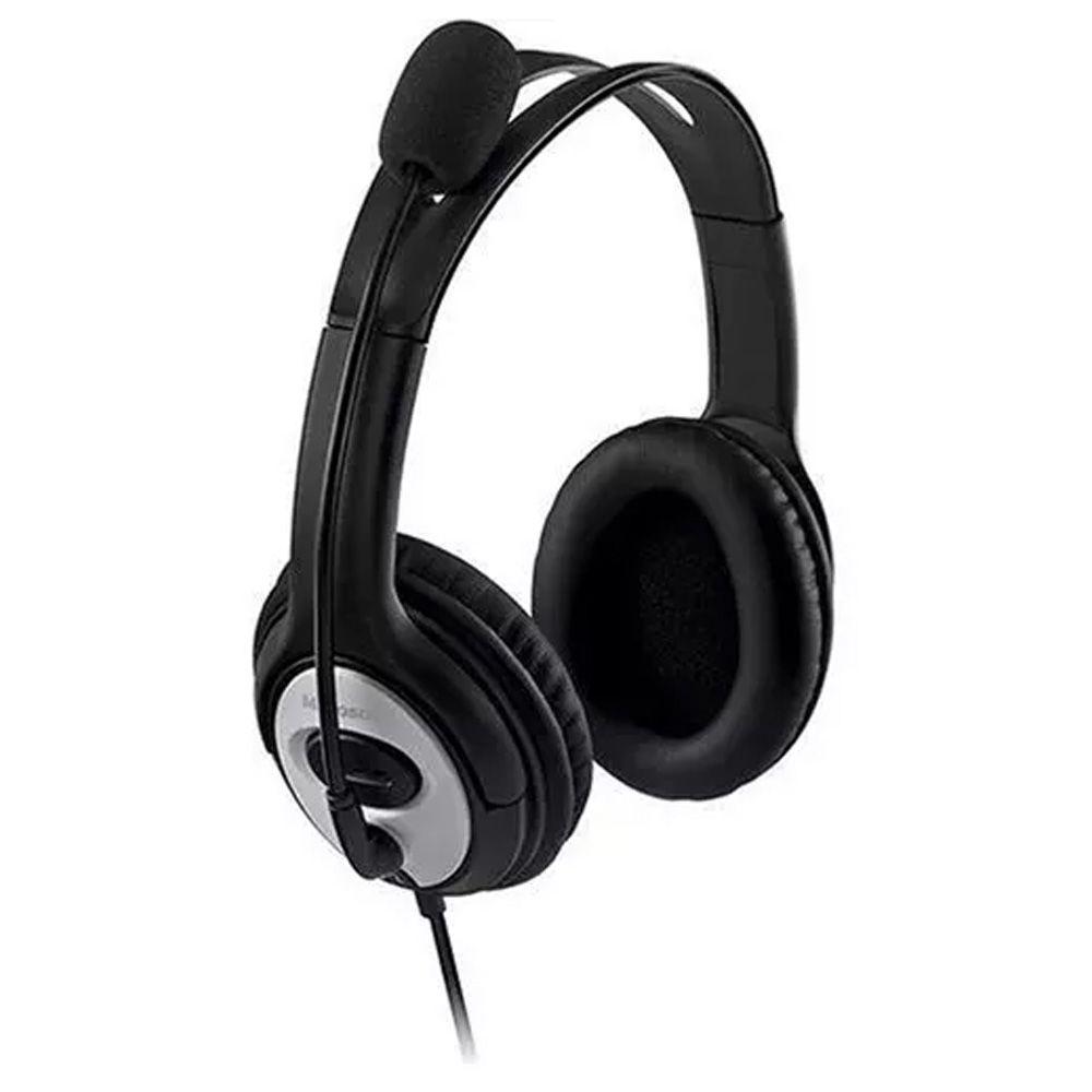 Headset Microsoft Life Chat Lx-3000 Preto - Jug-00013