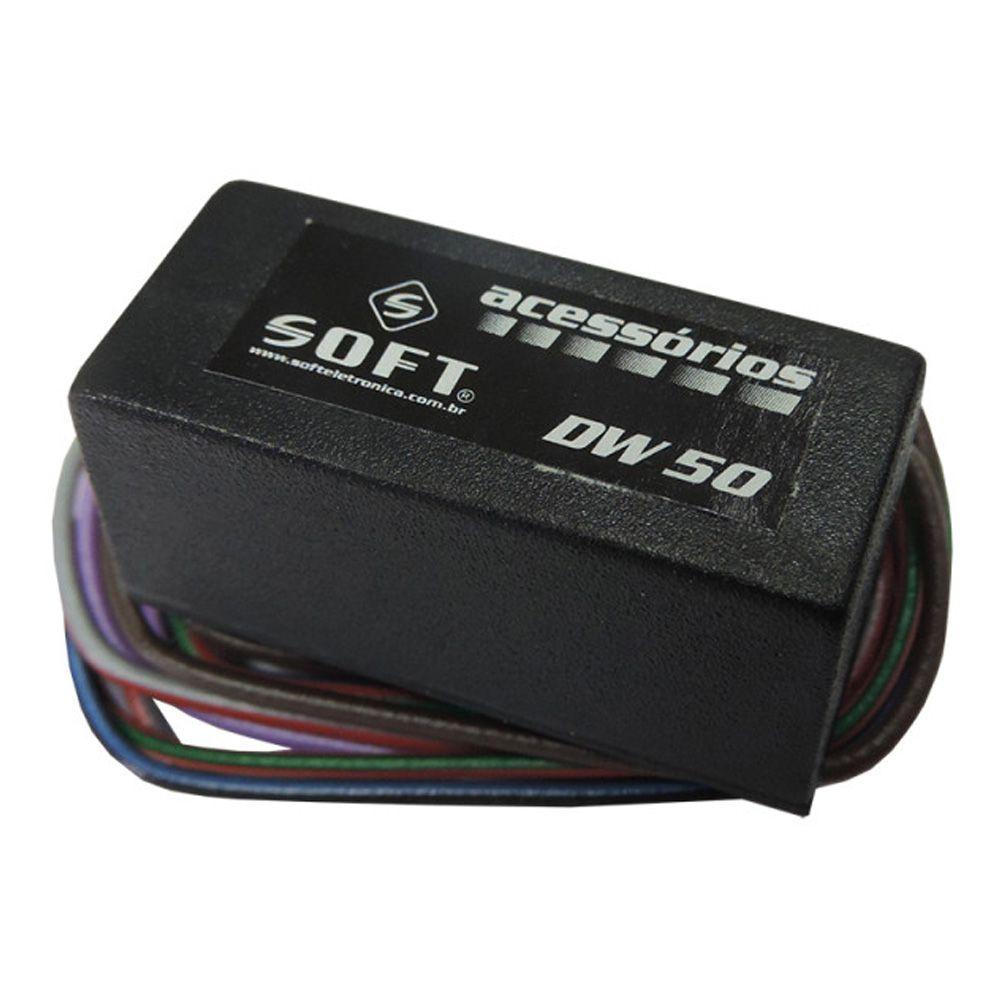 Módulo De Levantamento Automação De Vidros Dw50 Soft