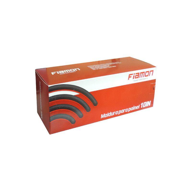 Moldura 1 Din Prata Para Fiat Linea/Punto 2008 A 2012 Fiamon