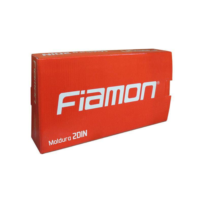 Moldura Fiamon 2 Din Preta Onix Cobalt Spin Prisma