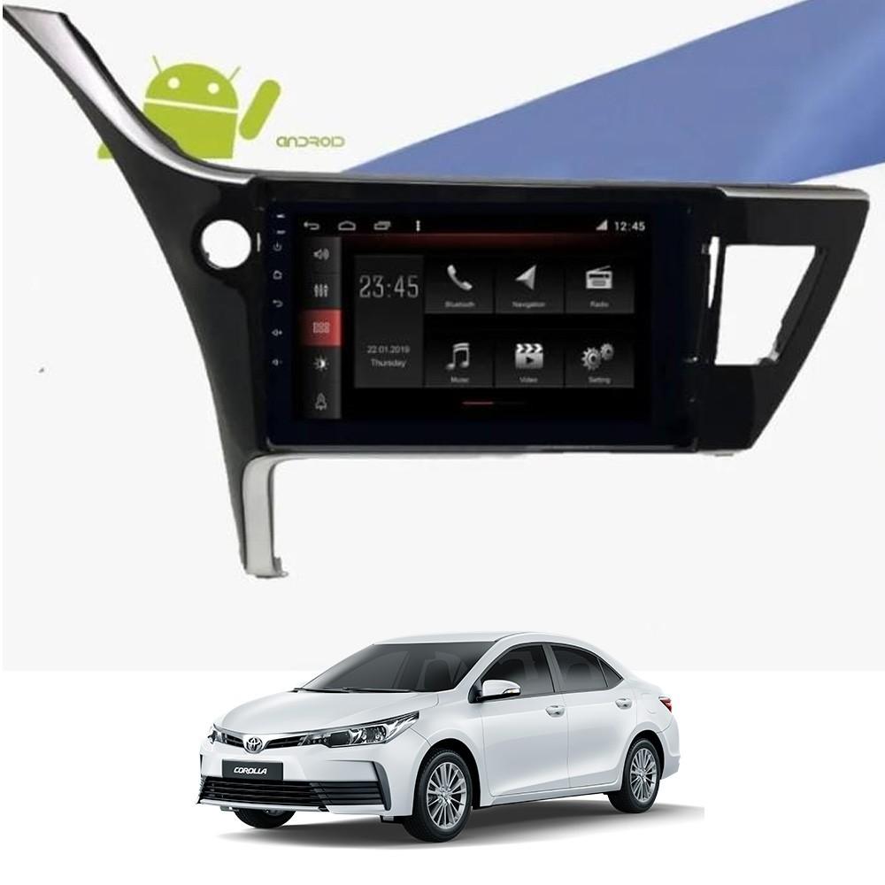 Multimídia Corolla 2017 a 2019 Tela 10
