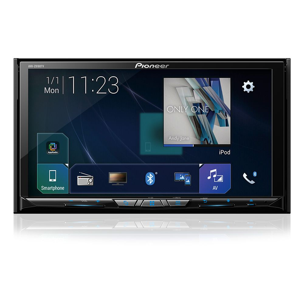 Multimidia Dvd 7'' Pioneer Avhz9180tv Espelhamento Hdmi Wifi
