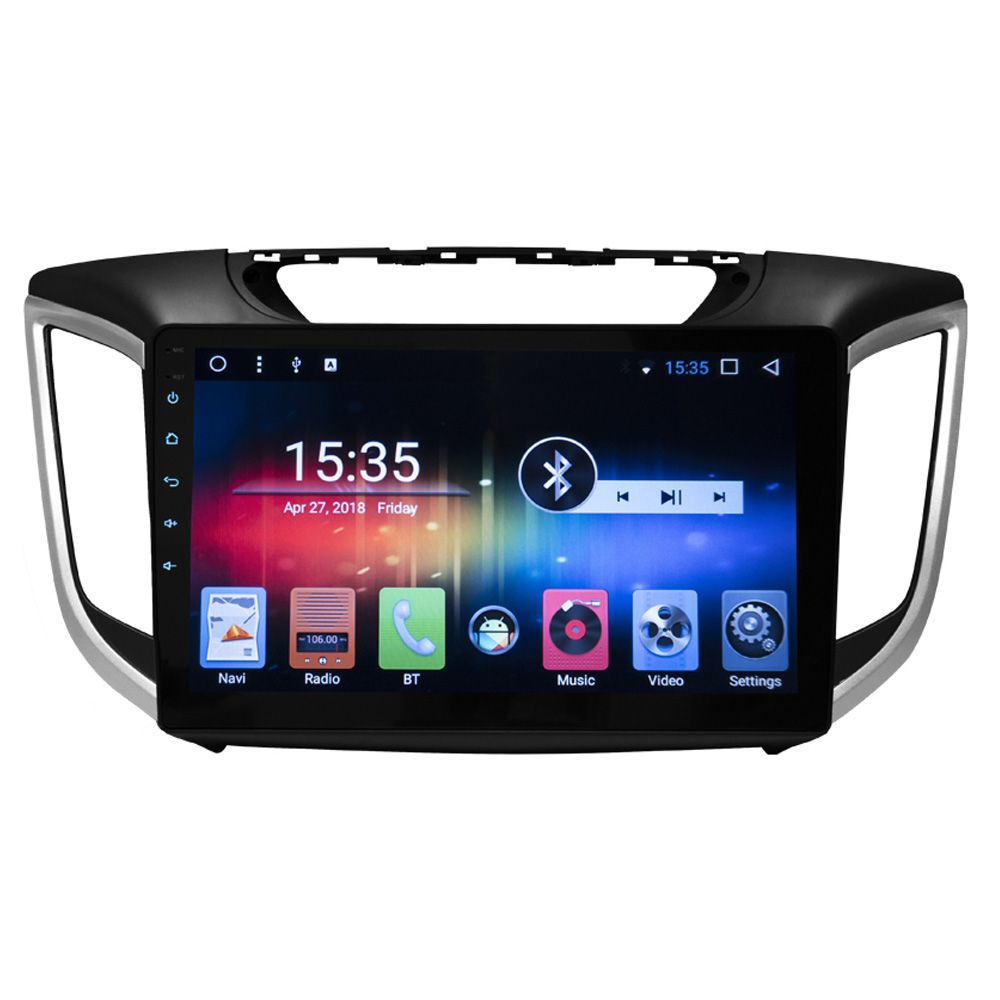 Multimídia Hyundai Creta  Hetzer Tela 10 Pol Android 7.1 (TODOS)