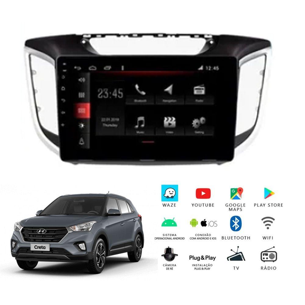 Multimídia Hyundai Creta PCD 2018 a 2020 Tela 10