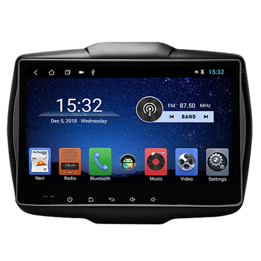 Multimidia Jeep Renegade Hetzer Tela 10 Pol Android 8.1 Pcd