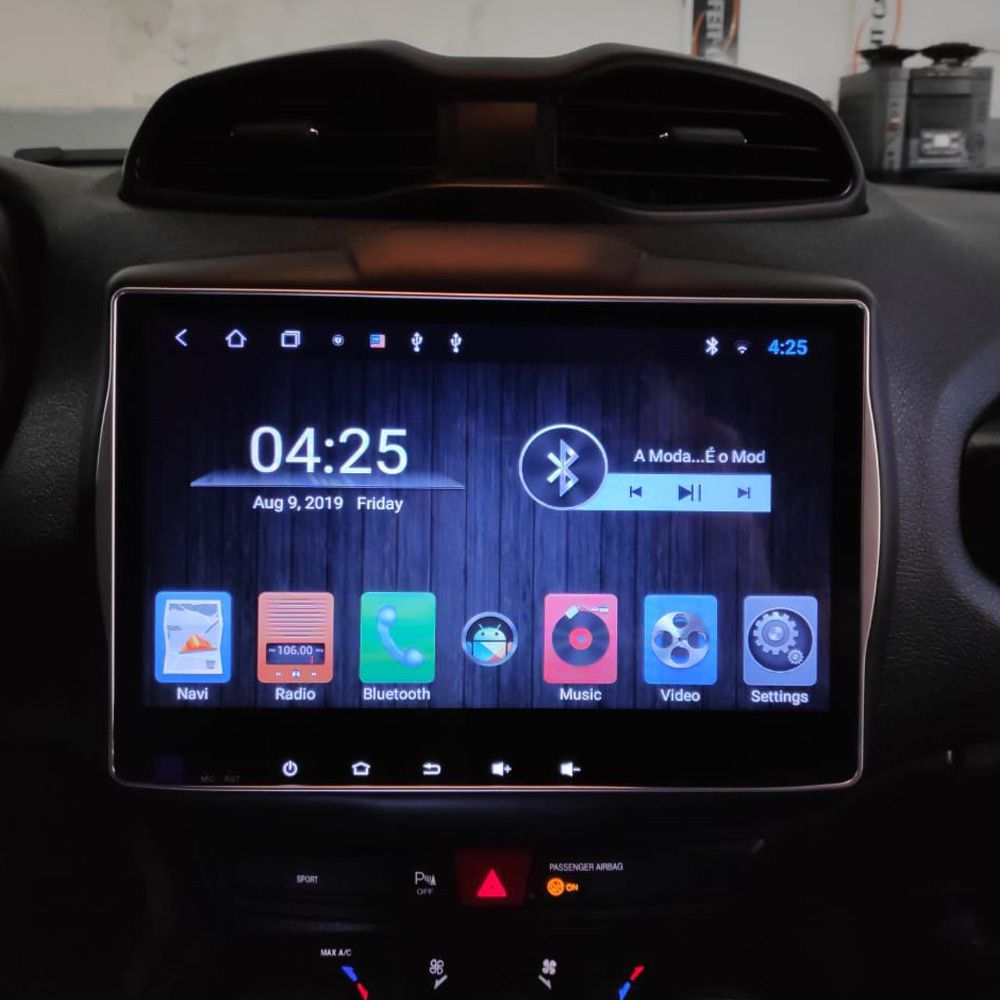 Multimidia Jeep Renegade Hetzer Tela 10 Pol Android 8.1 SPORT