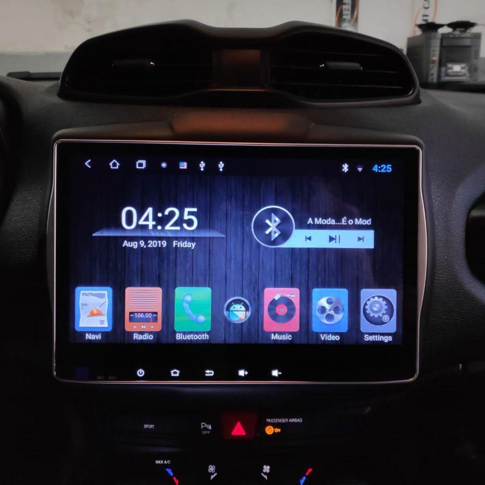 Multimídia Renegade Hetzer Tela 10 Pol Android 8.1 Pcd + Farol de Milha
