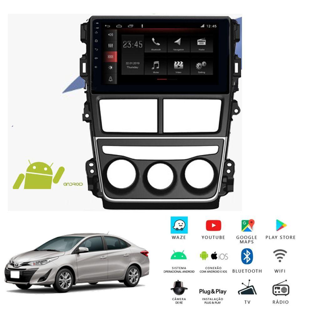 Multimídia Toyota Yaris PCD 2019 a 2020 Tela 9