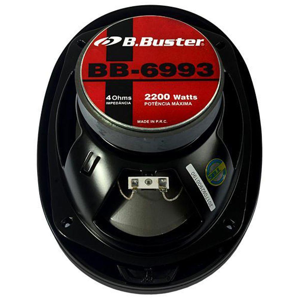 Par Alto Falante B-buster Bb-6993 6x9 2200w 5 Vias 160wrms