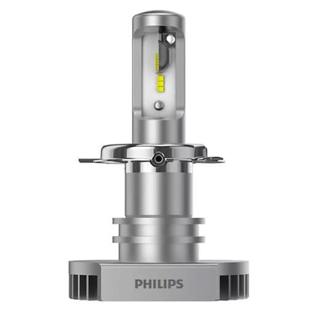 Par Lâmpadas Philips Ultinon Led H4 6200k Super Branca 12v