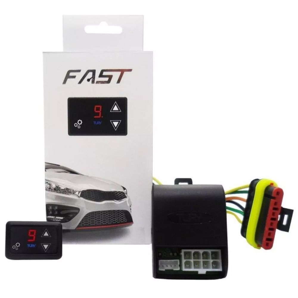 Pedal Fast Tury Reduz Atraso Delay Acelerador Fiat Toro