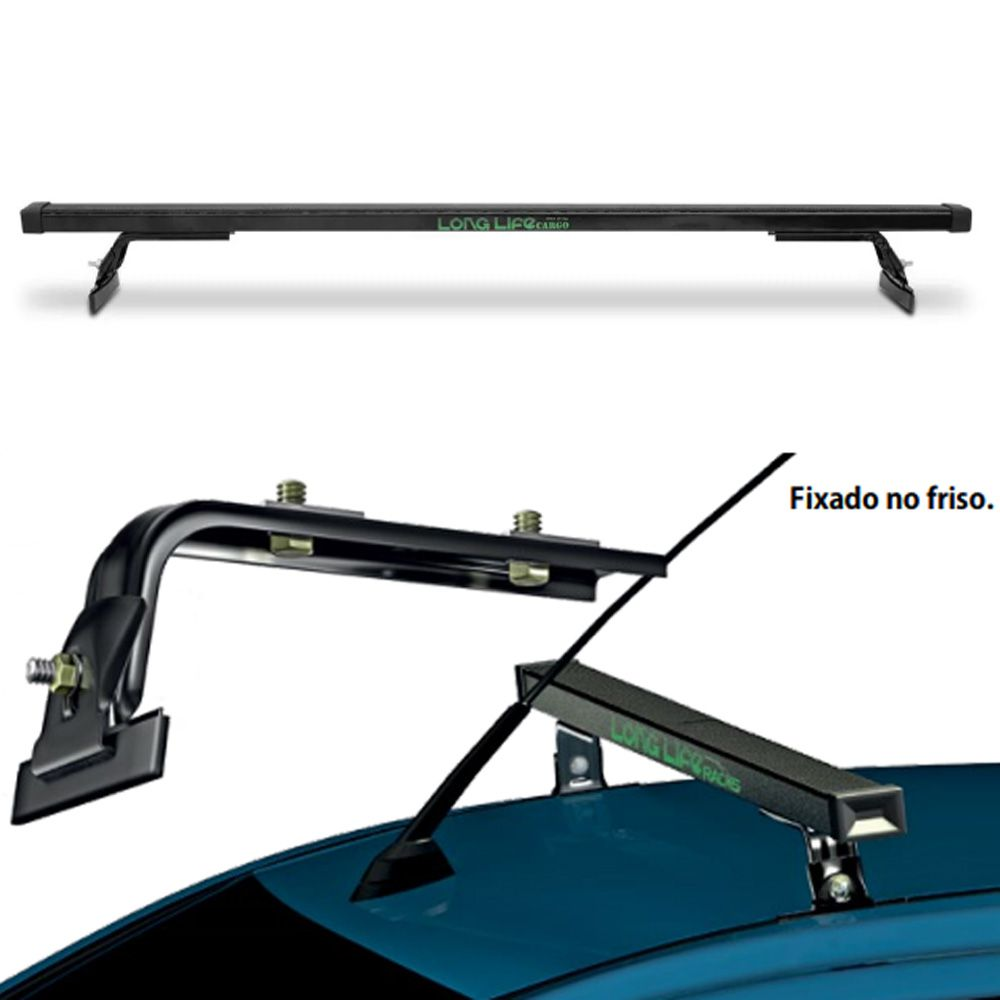 Rack De Teto Long Life Chevrolet Calibra Aço Até 60kg - K1