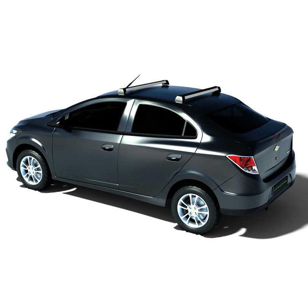 Rack De Teto Long Life Chevrolet Prisma 2013 Até 2019