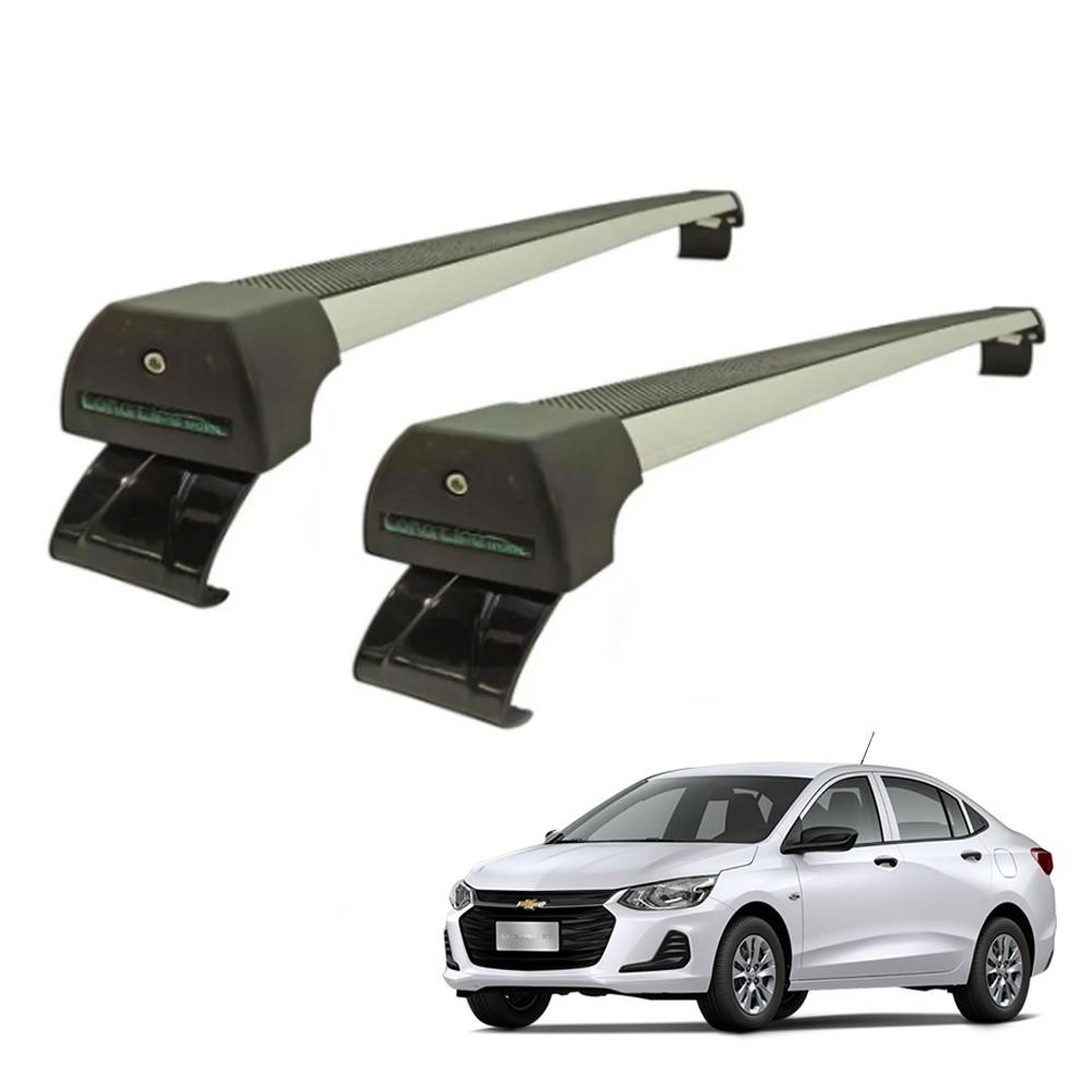 Rack de teto Onix Plus Sedan a partir de 2020 4 portas Alumínio Long Life
