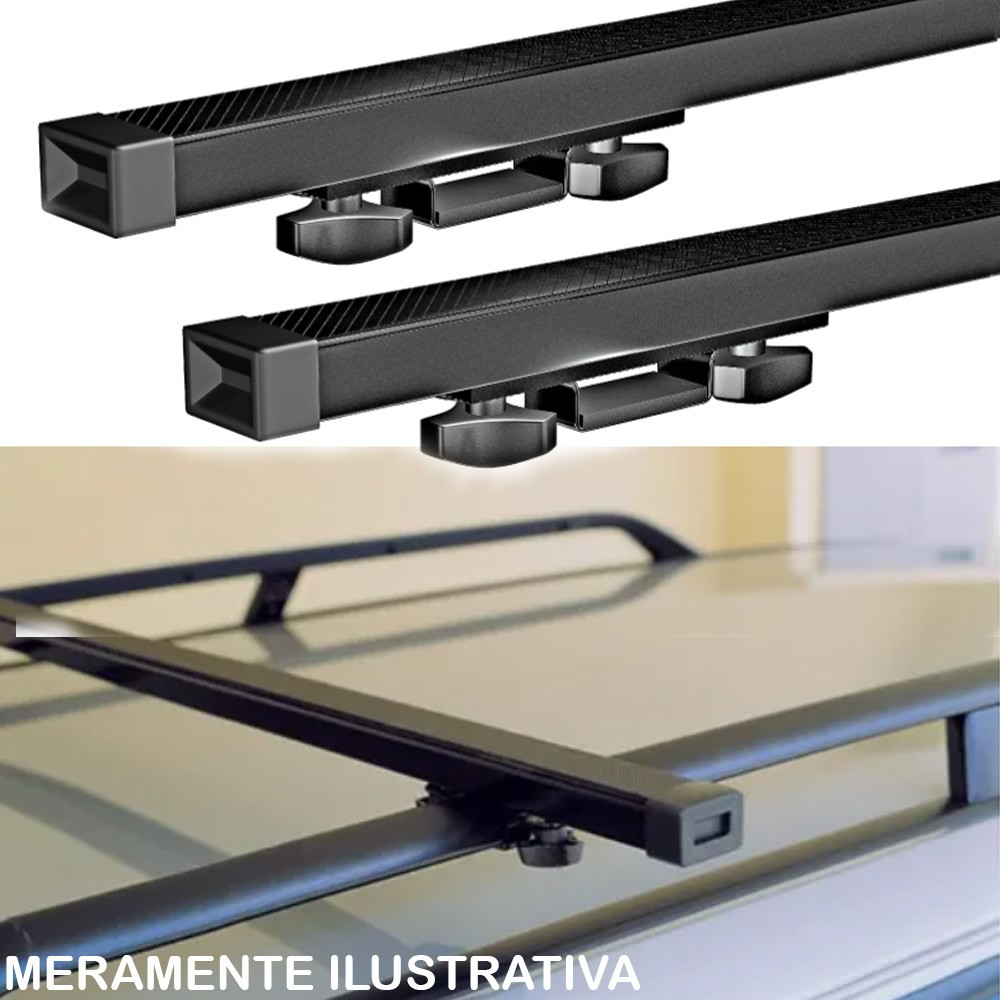 Rack de Teto Travessa Tiggo 2010/2017 4 Portas Suporta 40KG Long Life
