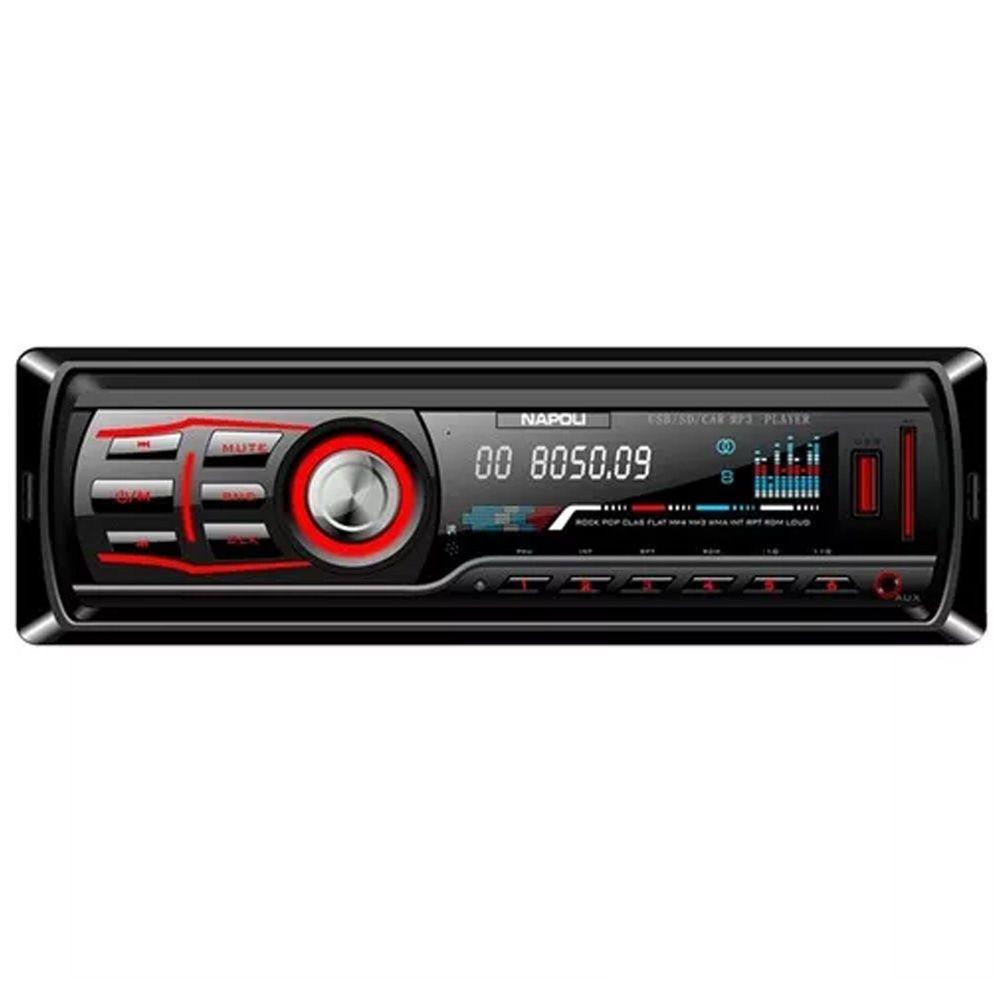 Rádio Napoli P/ Carro Npl-3570bt Usb Sd Card Aux Bluetooth!