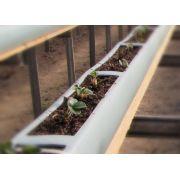 Calha de Cultivo em Substrato  com 3 metros