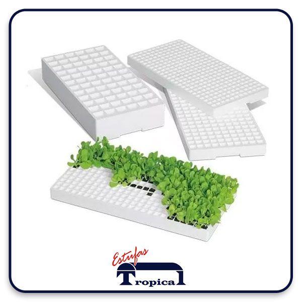 Bandeja Isopor 288 Células  - Tropical Estufas Agricolas