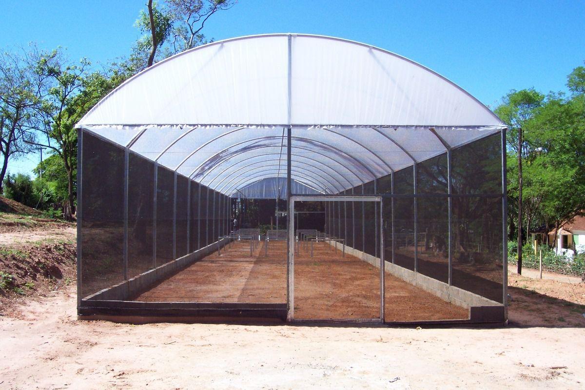 ESTUFA PREMIUM - 4x9  - Tropical Estufas Agricolas