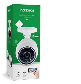 Câmera de Segurança Wi-Fi HD Externa