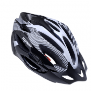 Capacete Ciclista Adulto Com Regulagem Bike Com Led Preto