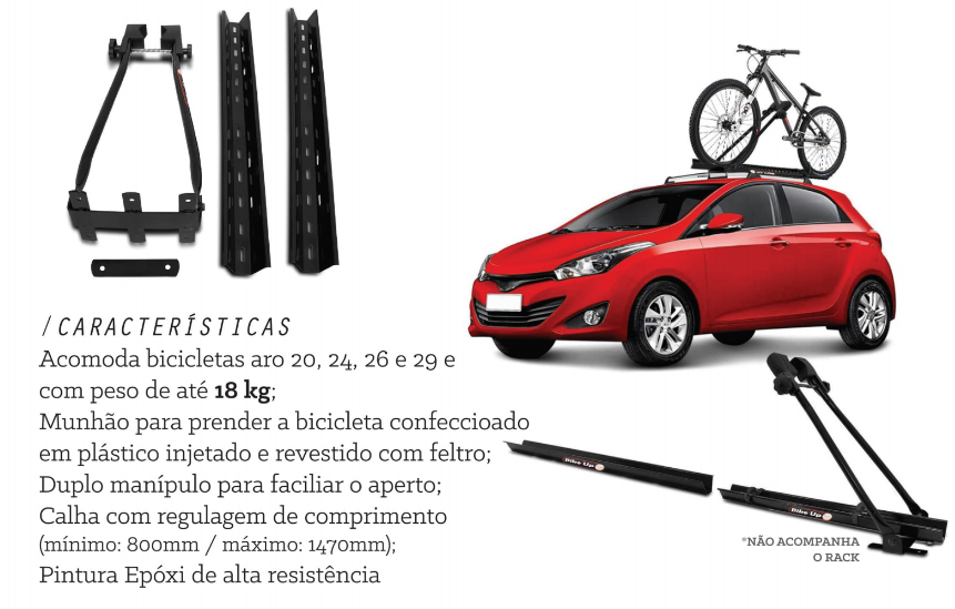 Transbike De Teto Bike Up