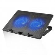 Base p/notebook c/ 2 coolers NBC-50BK C3Tech