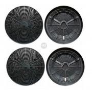Filtros Carvão Ativado p/ Coifa Tramontina Vetro (4unidades)