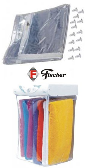 Bag Saco Pvc c/ Rebites Fixadores p/ Secadora Fischer Amiga