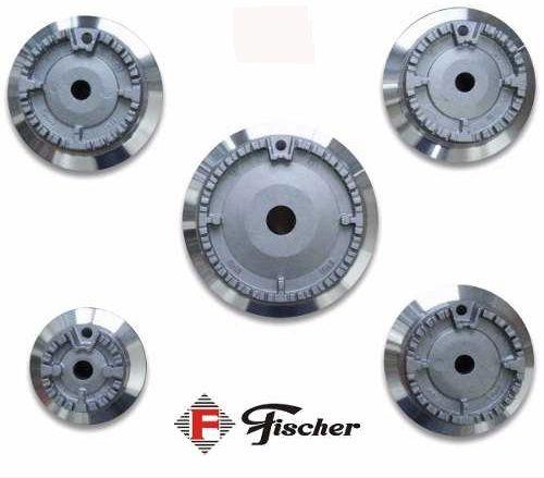 5 Tampinhas + 5 Queimadores + 5 Grades p/  Fogão Cooktop Fischer