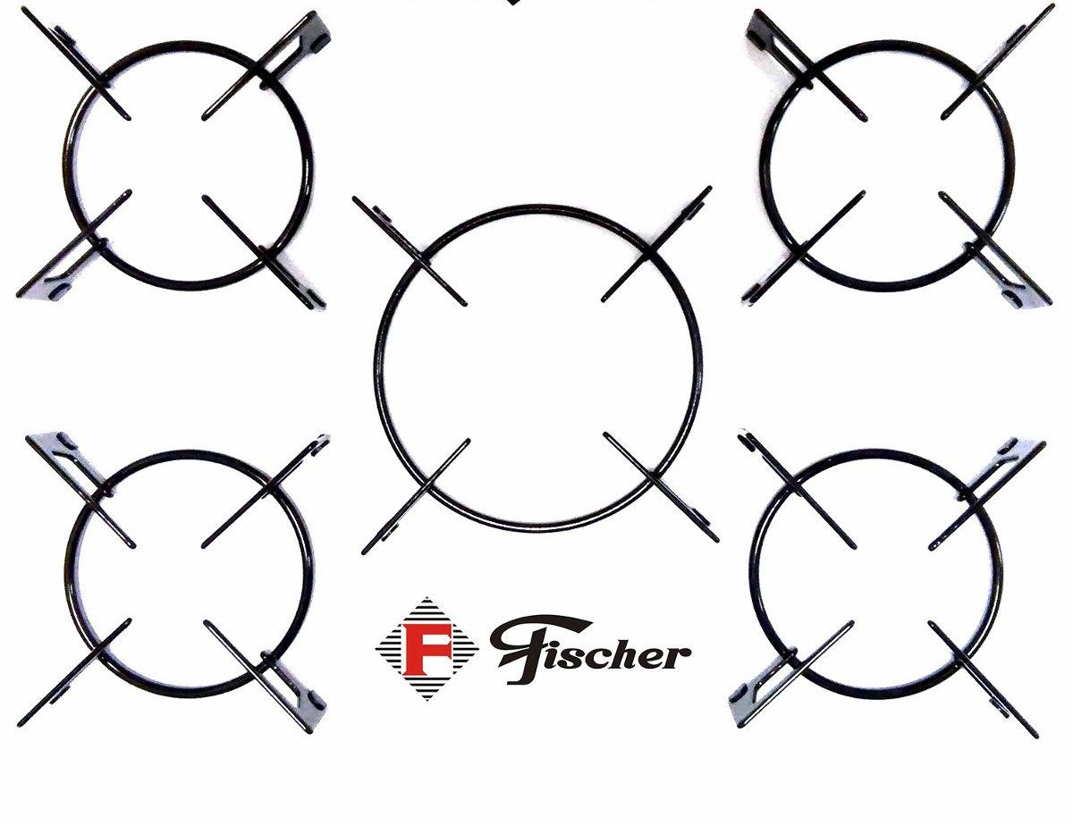 Grade Trempe p/ Fogão Cooktop Fischer 5 Bocas Tripla Chamas