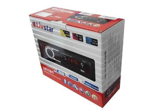 Radio Automotivo Bluetooth Usb 50w X 4 Com Controle