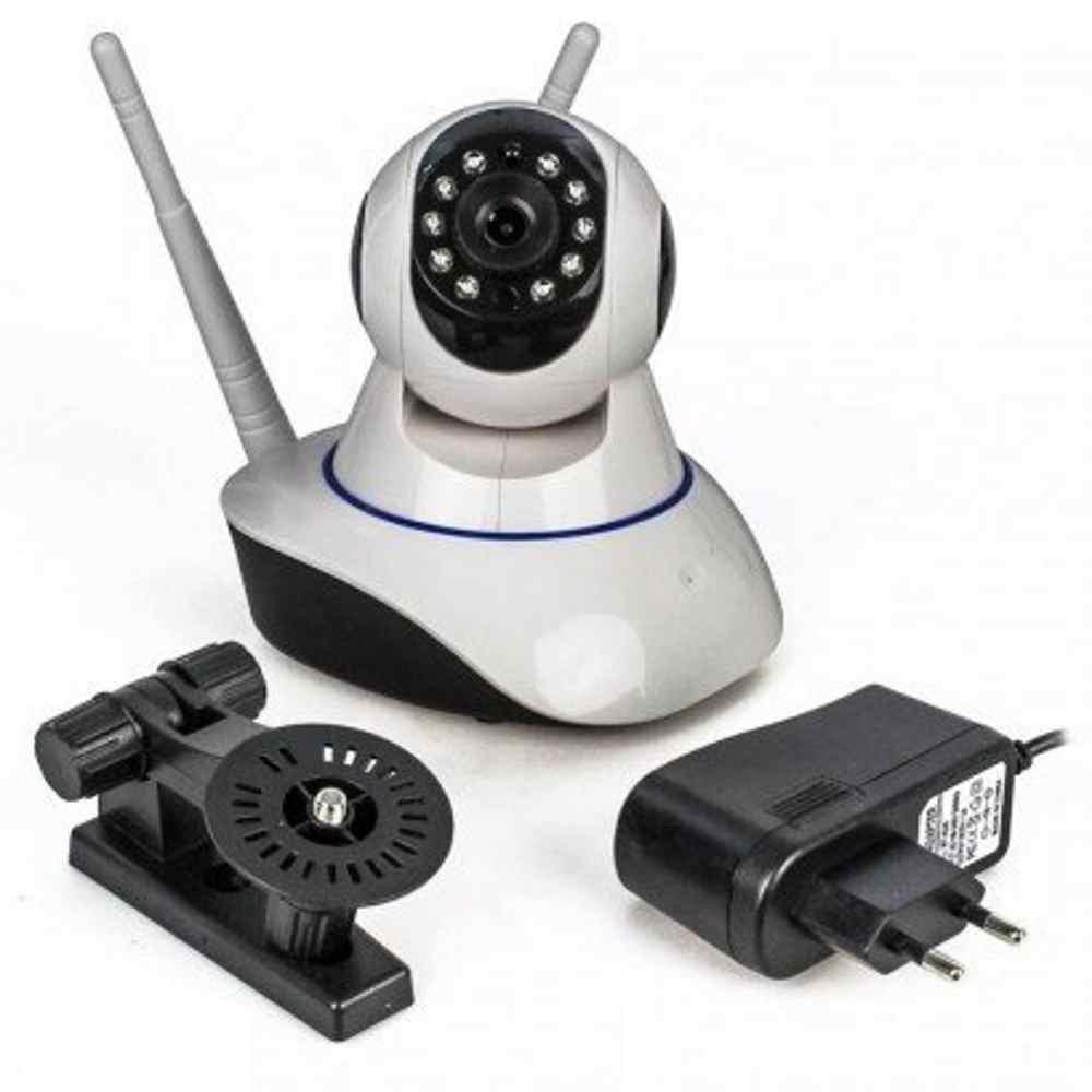 Câmera IP P2P 1.3MP WIFI com 2 Antenas resolução AHD 720P