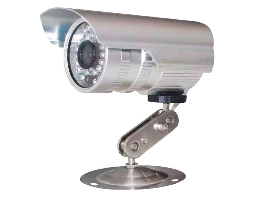 Kit Cftv 4 Câmeras Convencionais com Dvr 4ch 5x1 Full Hd e 100m Cabo Coaxial