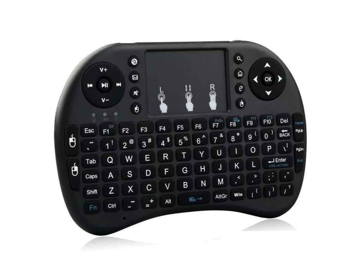 Mini Teclado Wifi Wireless Sem Fio Touchpad