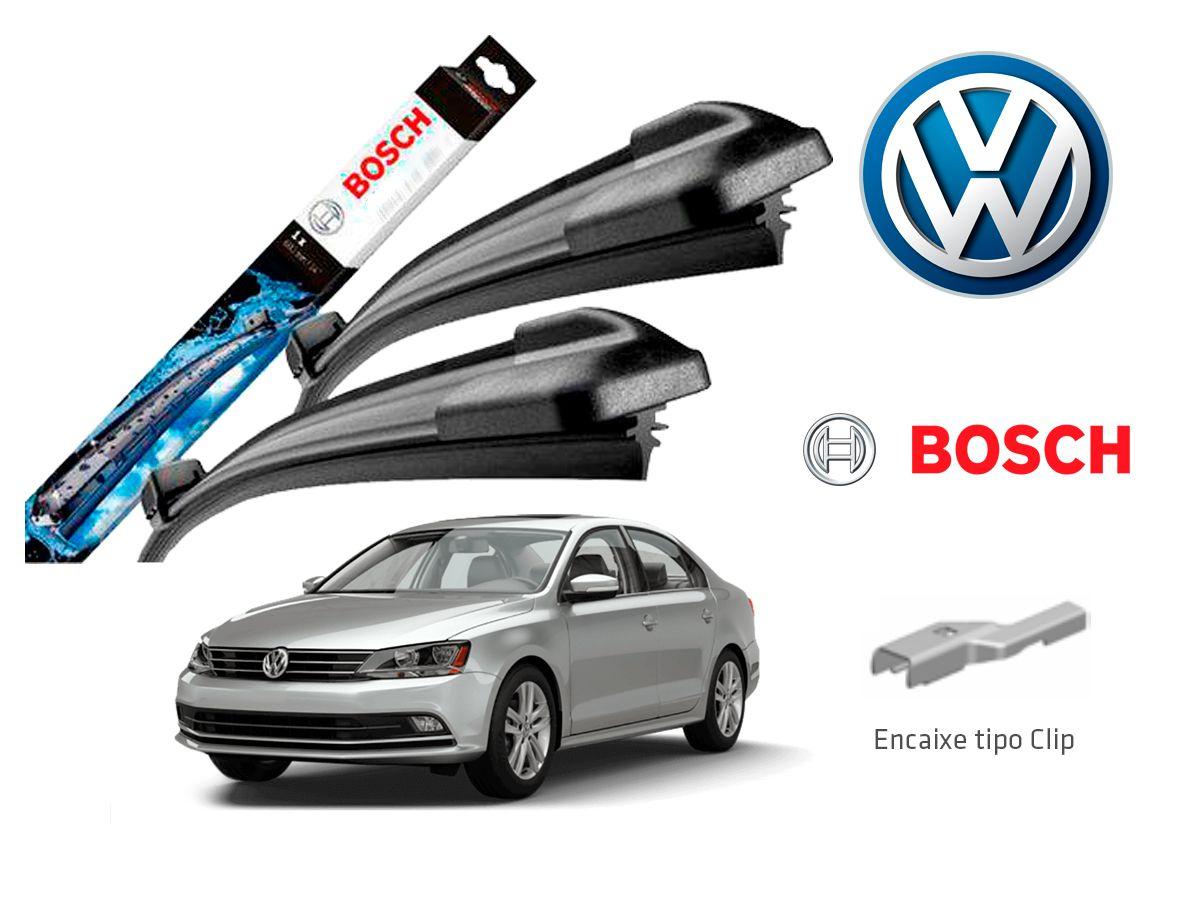 Jogo Palheta Dianteira Bosch VW Jetta Até 2018