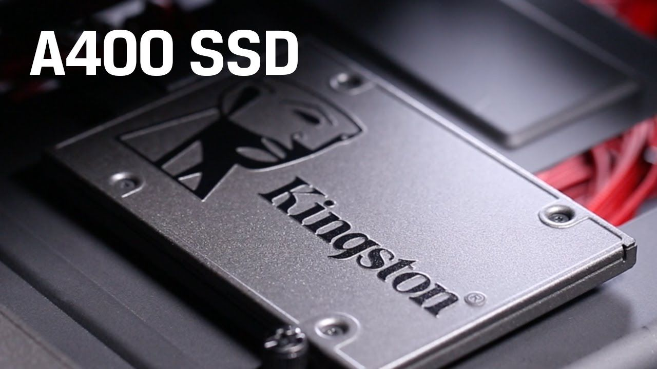 SSD Kingston A400 2.5 120gb Sata III 320mb SA400S37 120GB