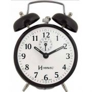 Despertador Herweg 2208 034 Preto Antigo Retrô Relógio