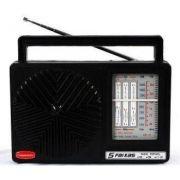 Rádio Vintage Retrô Companheiro 5 Faixas Crp-51